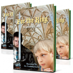 Children's novel 'For the King' launched